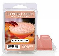 Парфюмерия и Козметика Восък за арома лампа - Country Candle Peach Bellini Wax Melts