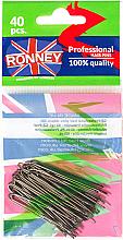 Парфюми, Парфюмерия, козметика Фуркети, кафяви 45 мм, 40 бр. - Ronney Brown Hair Pins