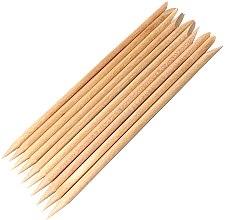 Парфюмерия и Козметика Дървени пръчици за избутване на кожички - Kabos