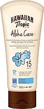 Парфюмерия и Козметика Слънцезащитен лосион за тяло - Hawaiian Tropic Aloha Care Protective Sun Lotion Mattifies Skin SPF 15