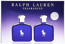 Парфюмерия и Козметика Ralph Lauren Polo Blue - Комплект тоалтна вода (edt/40ml + edt/40ml)