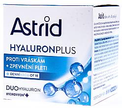 Парфюми, Парфюмерия, козметика Стягащ дневен крем - Astrid Hyaluron Plus Ultra Repair Firming Day Cream OF 10