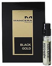 Парфюмерия и Козметика Mancera Black Gold - Парфюмна вода (мостра)
