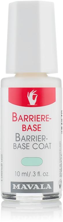 Защитно покритие за слаби и крехки нокти - Mavala Barrier-Base Coat — снимка N1
