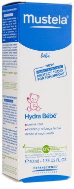 Детски крем за лице - Mustela Hydra Bebe Visage — снимка N1