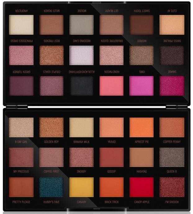 Палитра сенки за очи - Makeup Revolution X Petra 36 Shade Eyeshadow Palette — снимка N1