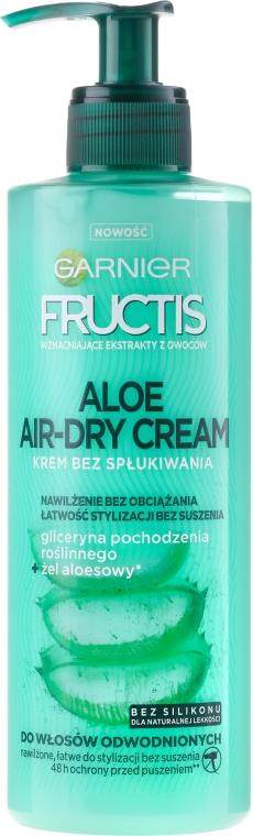 Крем за коса - Garnier Fructis Aloe Air-Dry Cream