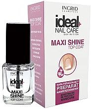 Парфюми, Парфюмерия, козметика Топ лак - Ingrid Cosmetics Ideal+ Maxi Shine Top Coat