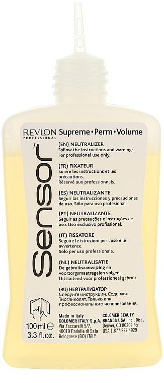 Продукт с химическо покритие при боядисана коса - Revlon Professional Sensor Perm-Supreme — снимка N2