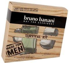 Парфюми, Парфюмерия, козметика Bruno Banani Made for Men - Комплект (тоал. вода/30ml + подарък-отварачка)