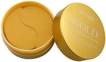 Хидрогелни пачове за очи със златен комплекс +5 - Petitfee&Koelf Gold Hydrogel Eye Patch — снимка N4