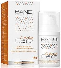 Парфюми, Парфюмерия, козметика Околоочен крем против бръчки с активен витамин С - Bandi Professional C-Active Eye Cream With Active Vitamin C