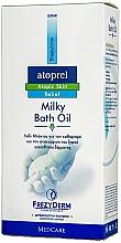 Парфюмерия и Козметика Мляко-масло за вана - Frezyderm Atoprel Milky Bath Oil