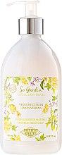 Парфюмерия и Козметика Течен сапун с масло от кокос и аромат на лимон и върбинка - Institut Karite So Garden Collection Privee Lemon Verbena Marseille Liquid Soap
