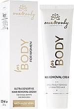 Парфюми, Парфюмерия, козметика Крем депилатоар - One&Only Cosmetics For Body For Women Ultra Sensitive Instant Hair Removal Cream