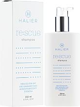 Парфюмерия и Козметика Възстановяващ шампоан за суха и увредена коса - Halier Re:scue Shampoo