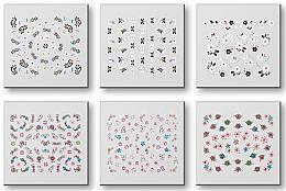 Парфюми, Парфюмерия, козметика Комплект лепенки за нокти 42959 - Top Choice Nail Decorations Stickers Set