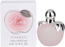 Парфюми, Парфюмерия, козметика Nina Ricci Nina LEau - Тоалетна вода ( мини )