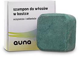 Парфюмерия и Козметика Твърд шампоан за коса - Auna Shampoo In A Bar