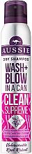 Парфюми, Парфюмерия, козметика Сух шампоан - Aussie Dry Shampoo Wash + Blow in a Can Clean Supreme