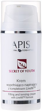 "Крем-лифтинг за лице ""Тайната на младостта"" - APIS Professional Secret Of Youth Filling And Tensing Cream With Linefill Tm Formula"