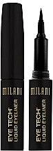 Парфюми, Парфюмерия, козметика Маркер-очна линия - Milani Eye Tech Liquid Eye Liner