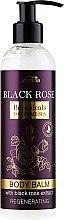 Парфюмерия и Козметика Възстановяващ балсам за тяло - Joanna Botanicals Regenerating Body Balm With Black Rose Extract