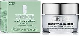 Парфюми, Парфюмерия, козметика Подхранващ крем за лице - Clinique Repairwear Uplifting Firming Cream SPF15 Skin Type 2,3