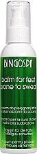 Парфюмерия и Козметика Балсам против изпотяване за крака - BingoSpa Balm For Feet Prone To Sweat