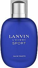Парфюмерия и Козметика Lanvin L'Homme Sport - Тоалетна вода