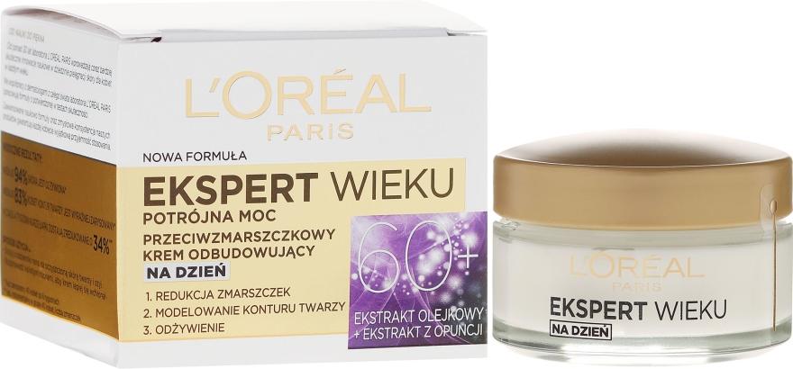 Дневен крем за лице - L'Oreal Paris Age Specialist Expert Day Cream 60+
