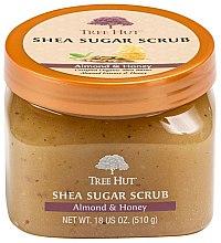 """Парфюмерия и Козметика Скраб за тяло """"Бадем и мед"""" - Tree Hut Shea Sugar Scrub"""