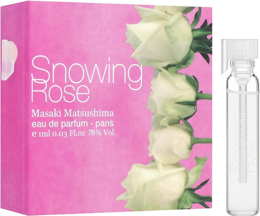 Masaki Matsushima Snowing Rose - Парфюмна вода (мостра)