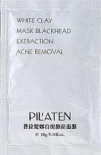 "Парфюмерия и Козметика Маска за лице ""Бяла глина"" - Pil'Aten White Clay Mask Blackhead Extraction Acne Removal (пробник)"