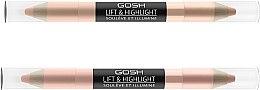 Парфюми, Парфюмерия, козметика Хайлайтър стик за лице - Gosh Lift & Highlight
