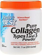 Парфюми, Парфюмерия, козметика Колаген тип 1 и 3 (на прах) за коса, кожа, нокти, кости и сухожилия - Doctor's Best Best Collagen Types 1 & 3 Powder