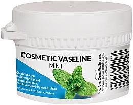 Парфюмерия и Козметика Козметичен вазелин за лице и устни с аромат на мента - Pasmedic Cosmetic Vaseline Mint