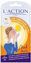 Парфюми, Парфюмерия, козметика Маска за здрав цвят на лицето - L`Action Paris Lifestyle Fair Complexion Face Mask