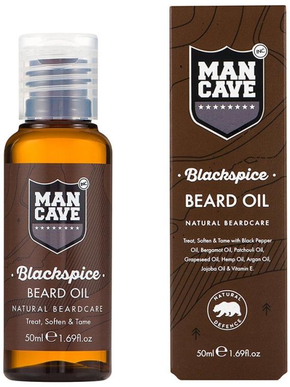 Масло за брадата - Man Cave Blackspice Beard Oil — снимка N1