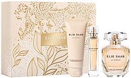 Парфюми, Парфюмерия, козметика Elie Saab Le Parfum - Комплект (парф. вода/90ml + парф. вода/10ml + лосион за тяло/75ml)
