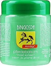 Парфюмерия и Козметика Конски мехлем с екстракт от арника - BingoSpa Horse Ointment With Arnica