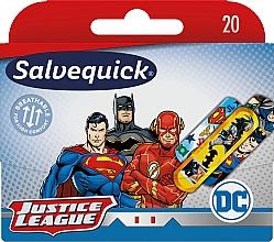 Парфюмерия и Козметика Детски пластири - Salvequick Justice League