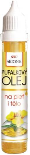 "Масло за лице и тяло ""Иглика"" - Bione Cosmetics Evening Primrose Face and Body Oil"