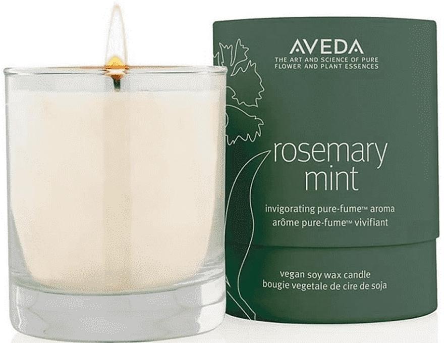 Свещ с розмарин и мента - Aveda Rosemary Mint Vegan Soy Wax Candle — снимка N1