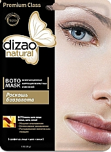 Парфюмерия и Козметика Бото-маска за лице, шия и клепачи с биозлато - Dizao
