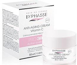 Парфюми, Парфюмерия, козметика Крем против първи бръчки - Byphasse Anti-aging Cream Pro30 Years Vitamin C