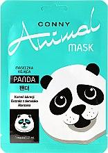"""Парфюми, Парфюмерия, козметика Успокояваща маска за лице """"Панда"""" - Conny Animal Mask Panda"""