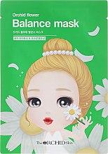 Парфюми, Парфюмерия, козметика Балансираща маска за лице от плат - The Orchid Skin Orchid Flower Balance Mask