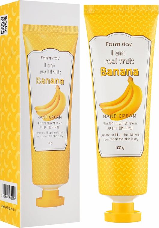 Крем за ръце с екстракт от банан - FarmStay I Am Real Fruit Banana Hand Cream