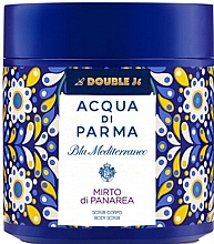 Парфюмерия и Козметика Acqua di Parma Blu Mediterraneo-Mirto di Panarea - Скраб за тяло